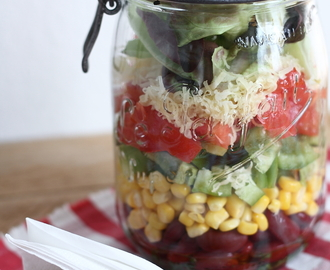 Salade mexicaine en pot