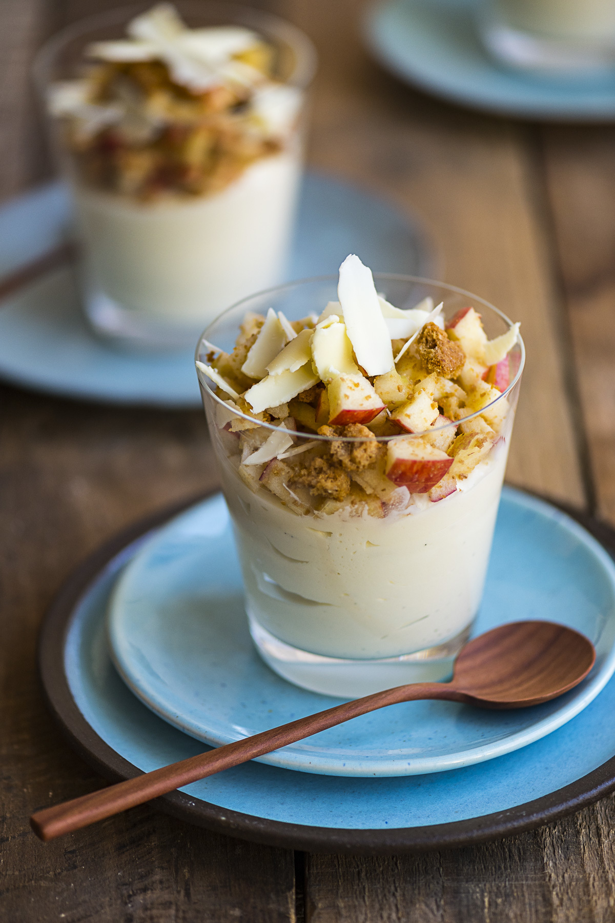 heinstirred wrote a new post, White Chocolate and Mascarpone Mousse with a Raw Jazz™Apple Crumble, on the site heinstirred