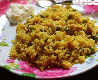 Masala Bhaat / Masale Bhat - Maharashtrian Rice Recipe