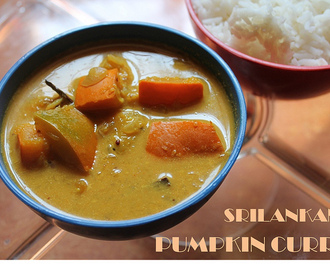 Srilankan Pumpkin Curry