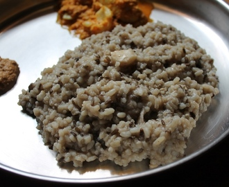 Ulundu Choru Recipe / Ulundu Saadam Recipe / Urad Dal Rice Recipe