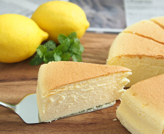Resep Japanese Cotton Cheese Cake Lembut