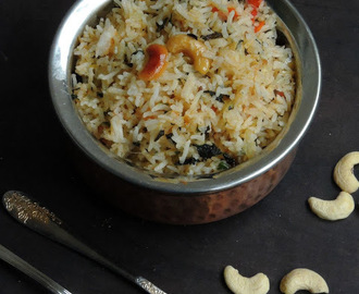 Andhra Style Mint Rice/Pudhina Annam