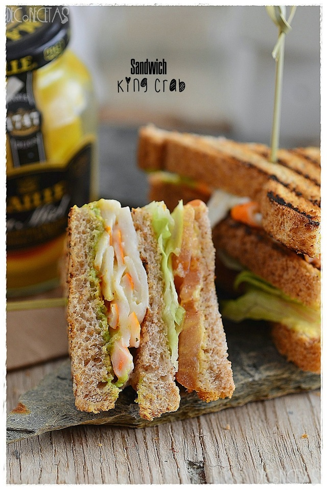 Sandwich King Crab