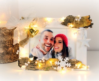 Christmas Gift Idea: DIY Picture Frame with LED-Lights