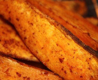 Oven Baked Sweet Potato Wedges