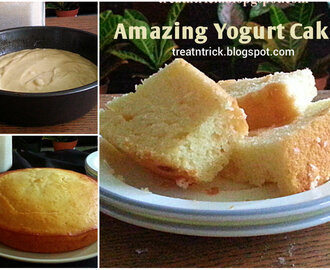 AMAZING YOGURT CAKE