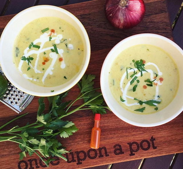 Chicken and Pumpkin Coconut Soup