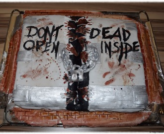The Walking Dead - ein Kuchenprojekt