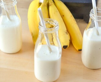 Yogurt Smoothie | Creamy Banana Vanilla