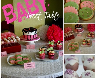 Baby Sweet Table ... Macadamia-Karamell-Cupcakes