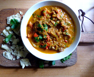 Homestyle Indian Lamb Curry (Syn Free)