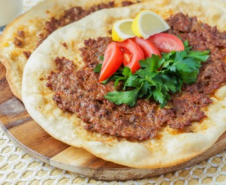 Tree of Life Cookbook Review and Lahmacun (Turkish Pizza)