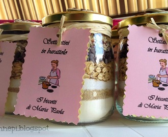 "Biscotti in barattolo o ""cookies in a jar"""