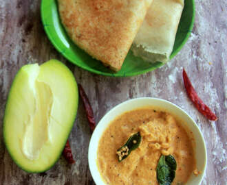 Raw Mango Chutney - Mango recipes - Breakfast, Dinner recipes