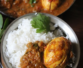 Egg Curry / Mutta Kozhambu / Egg Curry Masala / Kola Poori Anda Rasa!!