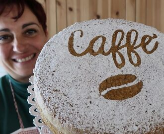 TORTA SOFFICE AL CAFFE', SOFT COFFEE CAKE