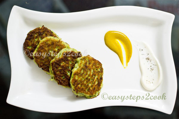Zucchini Fritters - an Easy Evening Snacks Recipe