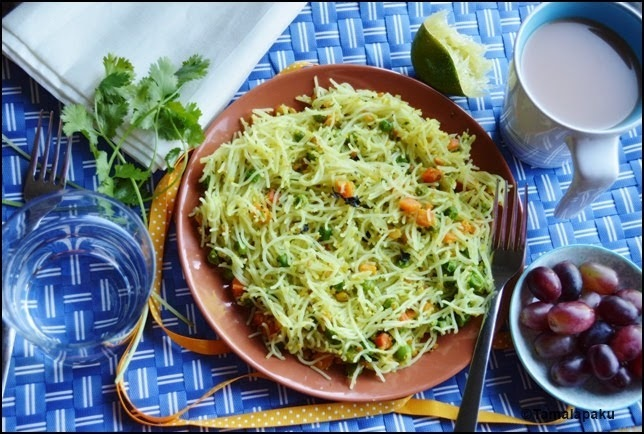 Rice sticks Upma (Rice Noodles)