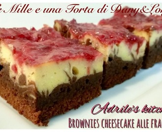 BROWNIES CHEESECAKE ALLW FRAGOLE