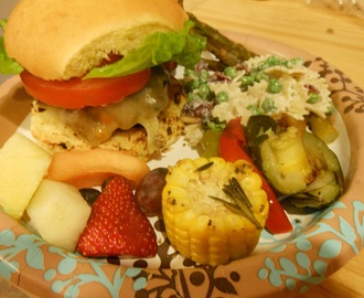 Meatless Monday... Southwestern Sweet Potato and Black Bean Burger