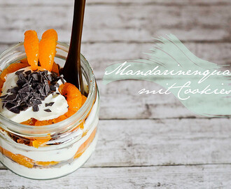 { Kitchen - Stories } Mandarinenquark mit Cookies