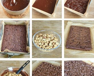 Snickersbrownies