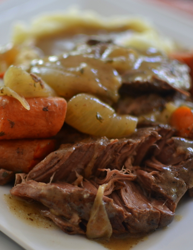 Crock Pot Chuck Roast and Vegetables