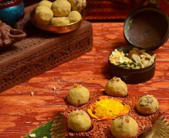 FRIED GRAM OR ROASTED GRAM LADOO RECIPE / MALADU RECIPE / HURIGADALE LADDU