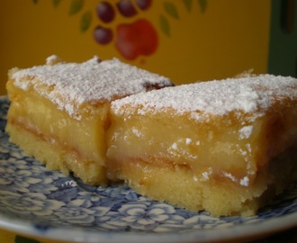 BARRITAS DE LIMÓN (LEMON BARS)