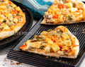 Paneer Pizza / Paneer and Mushroom Pizza - MeemisKitchen