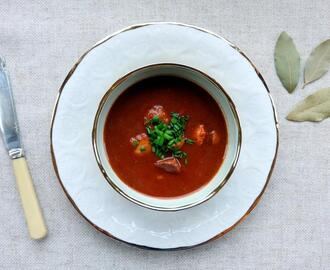 Austrian Goulash Soup Recipe