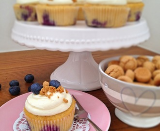 It's Cupcake Time - Blaubeer Amerittini Cupcakes