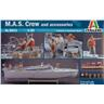Italeri 1/35 M.A.S. crew and accessories