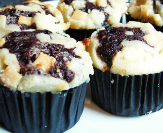 Chocolate Cheesecake Cupcakes Recipe (From Hanny's Bakery)