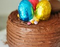 Layer cake de Pascua