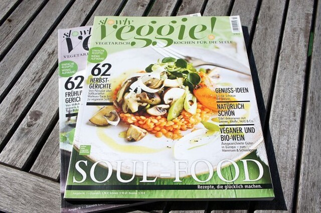 Food Magazin: Slowly Veggie!