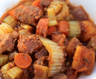 Light Parsnip and Fennel Seed Slow Cooker Beef Stew
