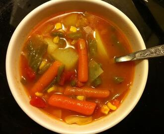 Sunday Dinner Series: Hearty Vegetable Soup