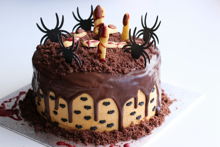 "Halloween ""bake off"" contest at the Savoy 