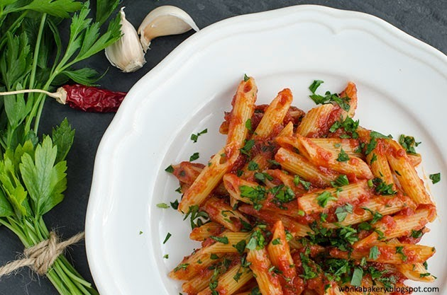 Penne all'Arrabbiata (real) Italian Style