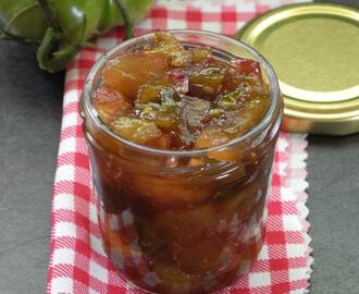 recettes de chutney de tomates vertes et oignons mytaste. Black Bedroom Furniture Sets. Home Design Ideas