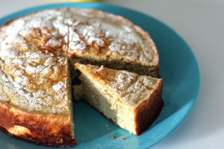 Torta al limone light e proteica (solo per fitness addicted!)