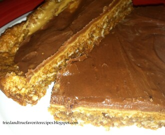 School Lunch Butter Finger Bars