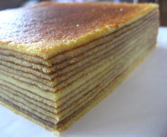 Cheese Thousand Layer Cake (Lapis Legit Keju)
