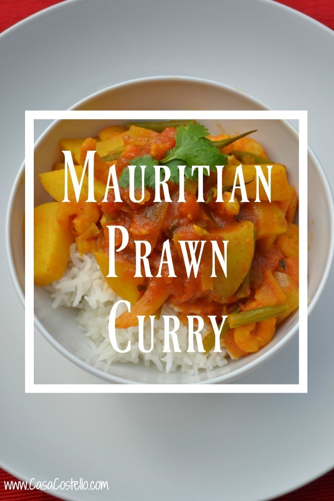 Mauritian Prawn Curry
