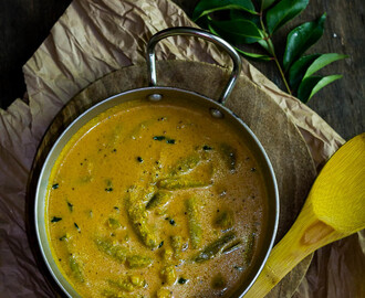 TonDekayi MeNasina HuLi | Ivy Gourd in Spiced Coconut Curry