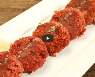 Sweet Potato Kababs Recipe Video