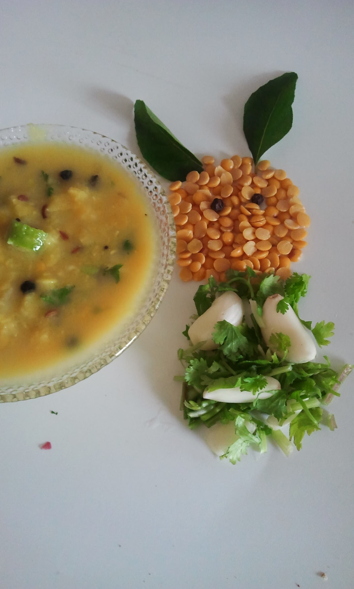Uppu Paruppu | Plain dal fry for rice