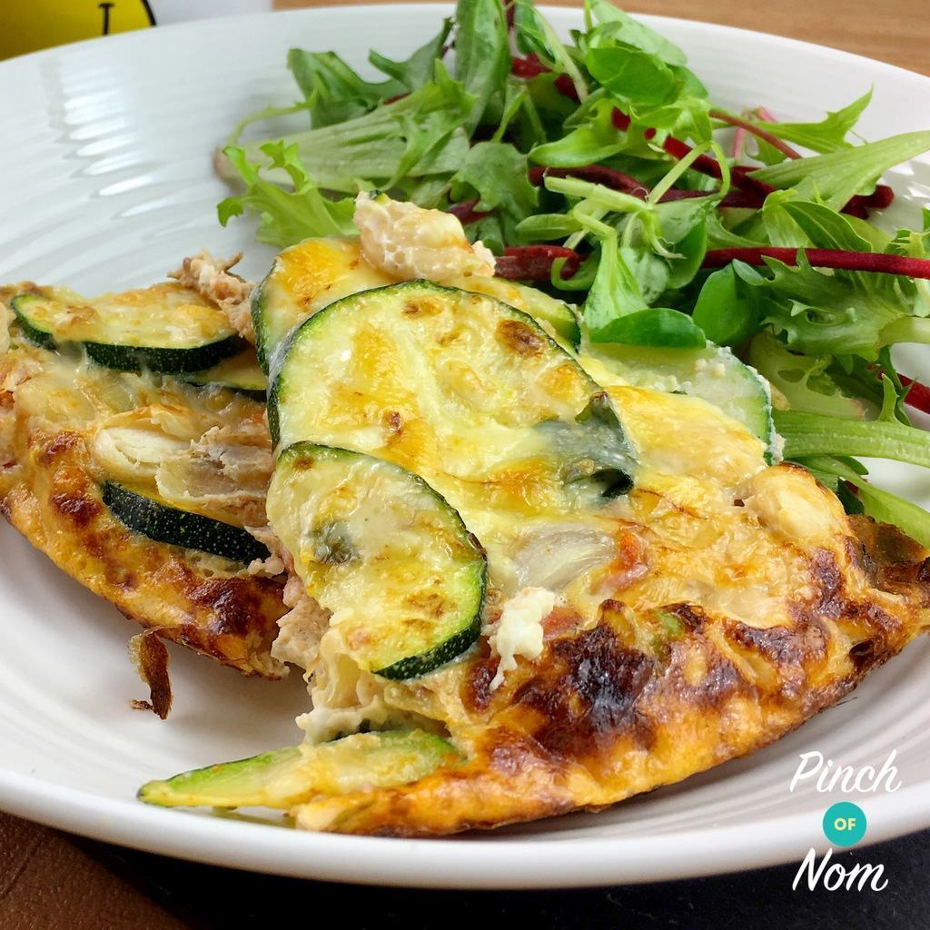 Syn Free Courgette & Butterbean Frittata | Slimming World